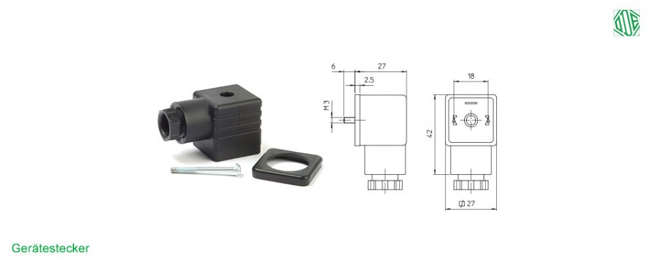 Gerätestecker P990305