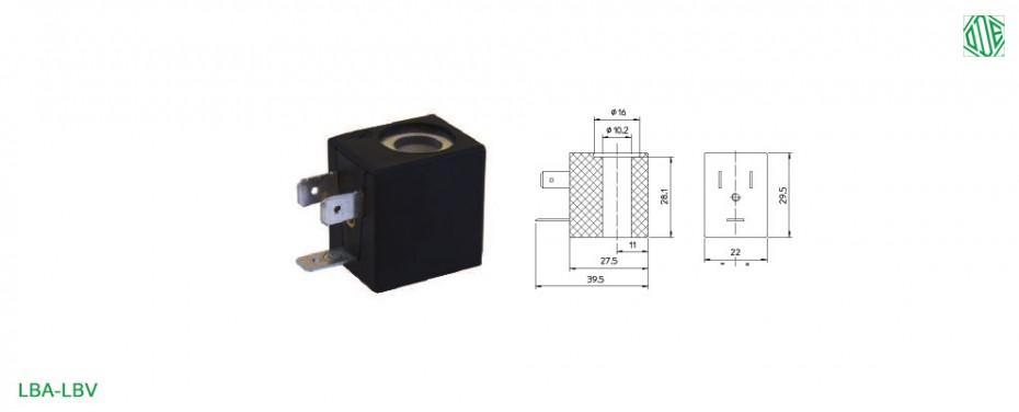 Magnetspule LBA-LBV